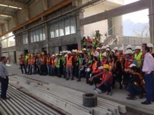 Visita Facultad Ingeniería Civil UANL